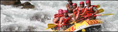 Whitewater Rafting Thrill Seekers