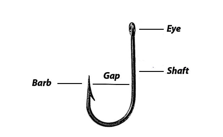 Fishing Hook Gap for Muskie