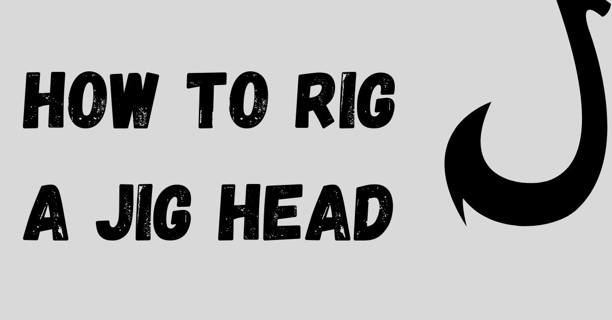 Jig head rigging