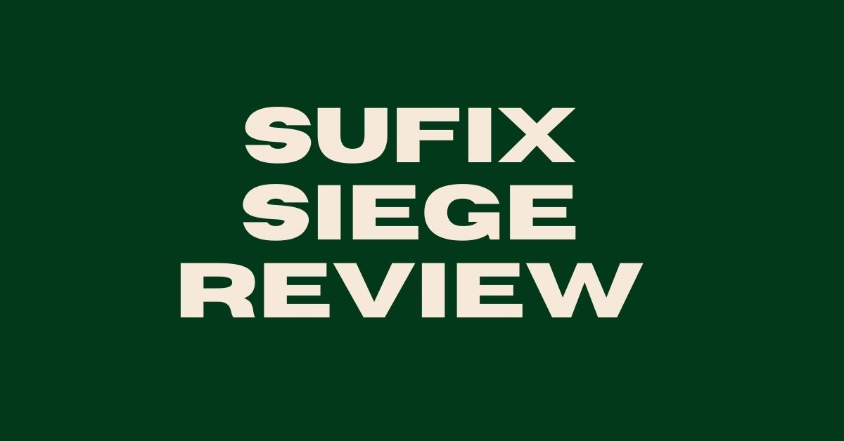 Sufix Siege Review